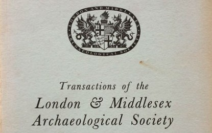 London and Middlesex Archaeological Society