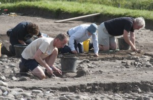 Binchester excavation