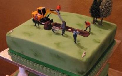 Edible Archaeology: Wedding cake