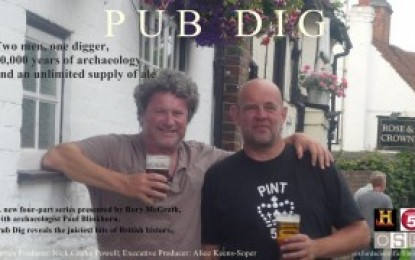 Pub Dig 2 – gin and comics
