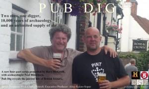 Pub Dig 3 - pints and pilgrims