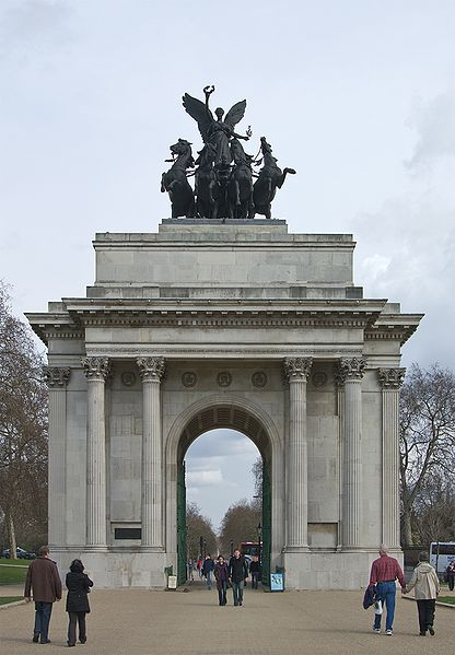 Wellington Arch reopens