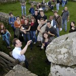 On site teaching on Hadrian's Wall