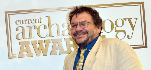 Tony Wilmott - Archaeologist of the Year 2012