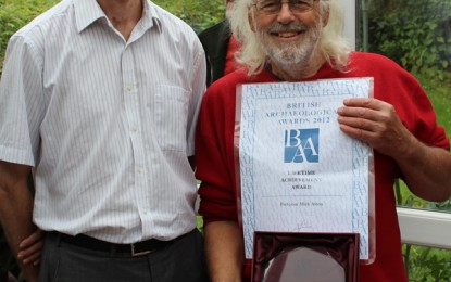 Lifetime achievement award for Mick Aston