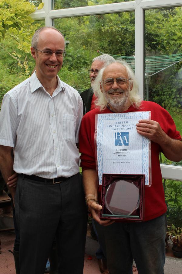 Lifetime achievement award for Mick Aston