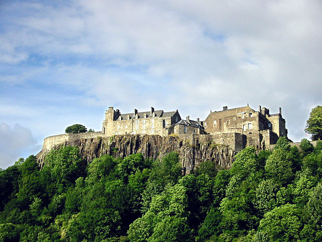 Stirling Castle voted the UK's favourite heritage attraction