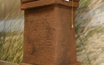 Rare Roman altar found at Maryport