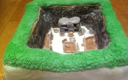 Skara Brae cake