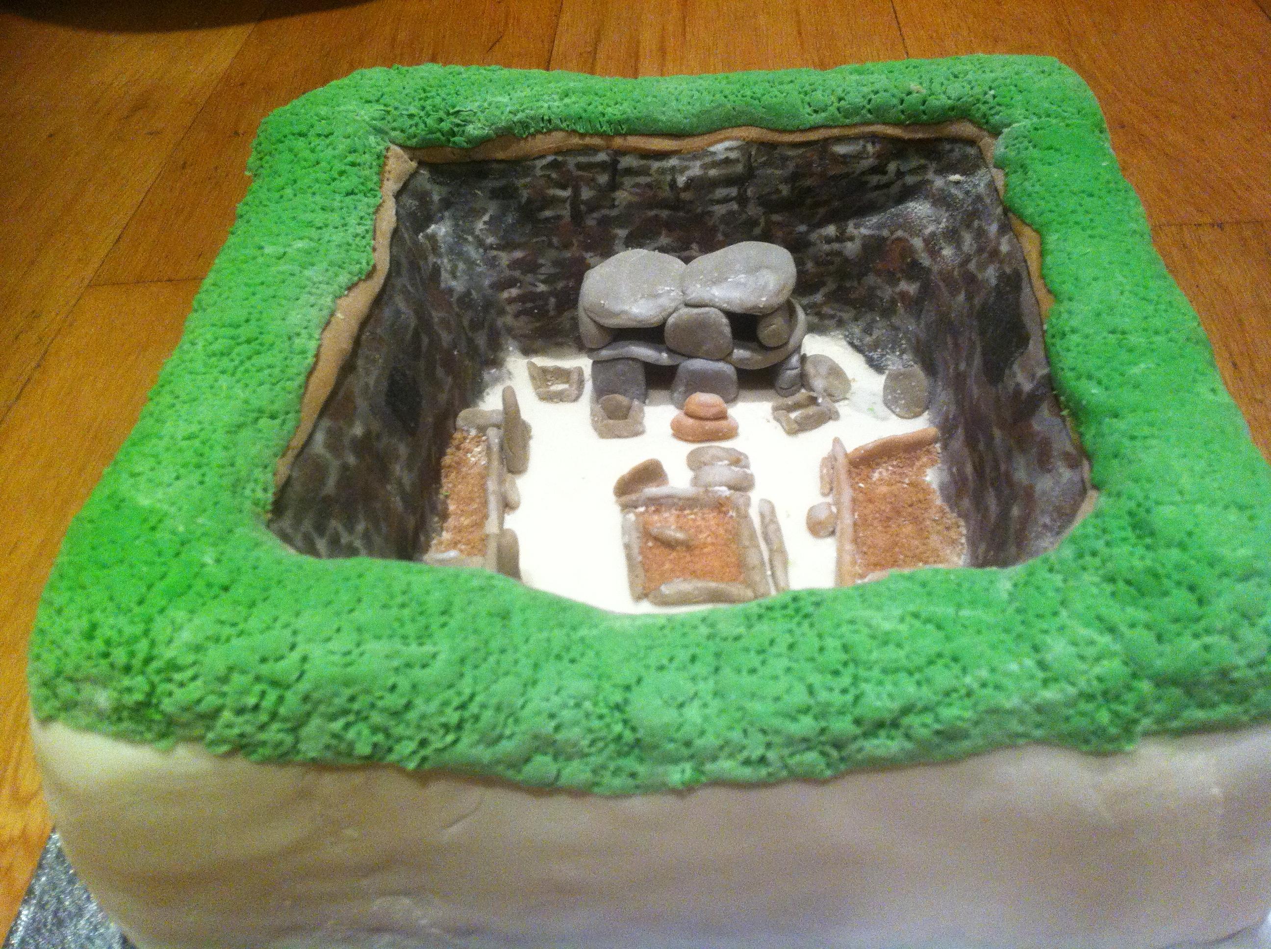 Skara Brae Cake Current Archaeology