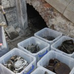 The cache after recovery, boxed up for recording - image: ORNC