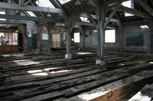 Namur timbers. Image: M Symonds