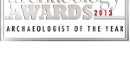 Archaeologist of the Year 2013