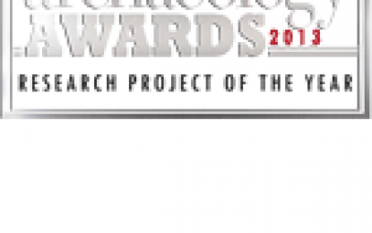 Research Project of the Year 2013