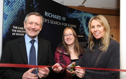 Richard III exhibition opens in Leicester
