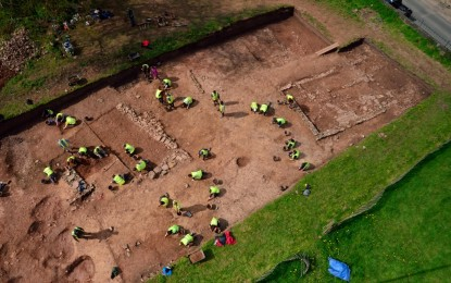 Berkeley Castle – Introduction to Archaeology Summer School 2015