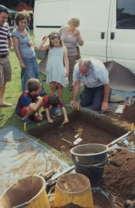 Test-pitting at the Michaelmas Fair last September attracted a lot of interest.