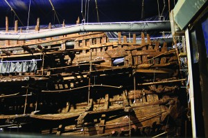 Timbers of the Mary Rose. Image: M Symonds