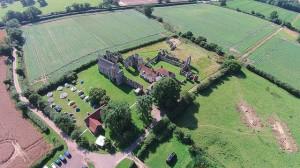 Aerial Leiston Abbey