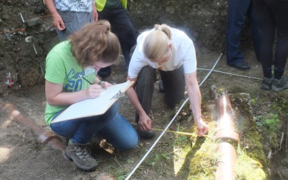 Bexley Archaeological Group – Training Excavation 2015