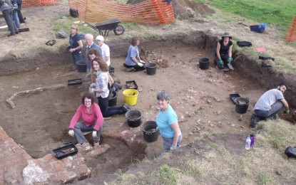 Woking Palace Excavations