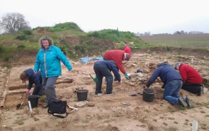 Piddington excavation