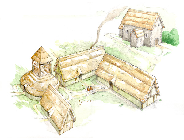 Exploring Anglo Saxon Settlement Current Archaeology
