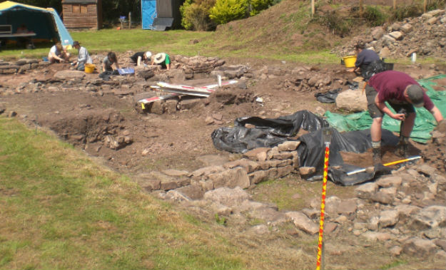 The Lost City of Trellech Excavation