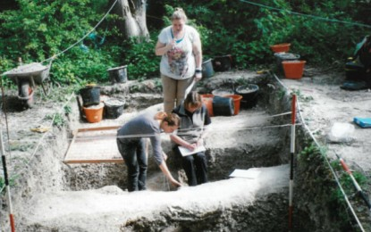 Roman Road Excavations – between Winchester – Chichester