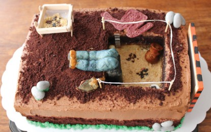 Edible Archaeology: Late Glacial Stratigraphy