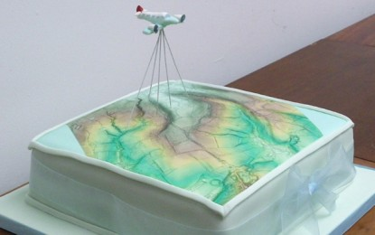 Edible Archaeology: LiDAR Cake