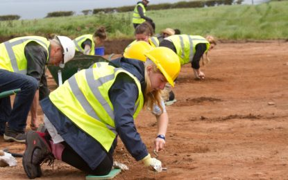 Last chance to visit the Maryport Roman Temples Project