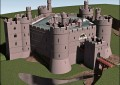 Holt Castle restored to royal glory