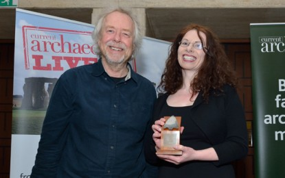 PRESS RELEASE: 'The Archaeology of Caves in Ireland' wins prestigious Book of the Year award for 2016