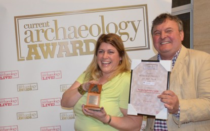 PRESS RELEASE: The Berkeley Castle Project wins prestigious Research Project of the Year award for 2016