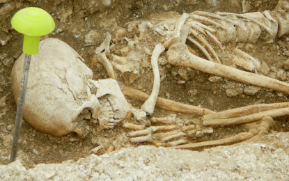 Prehistoric monuments and 150 Anglo-Saxon graves found at Bulford