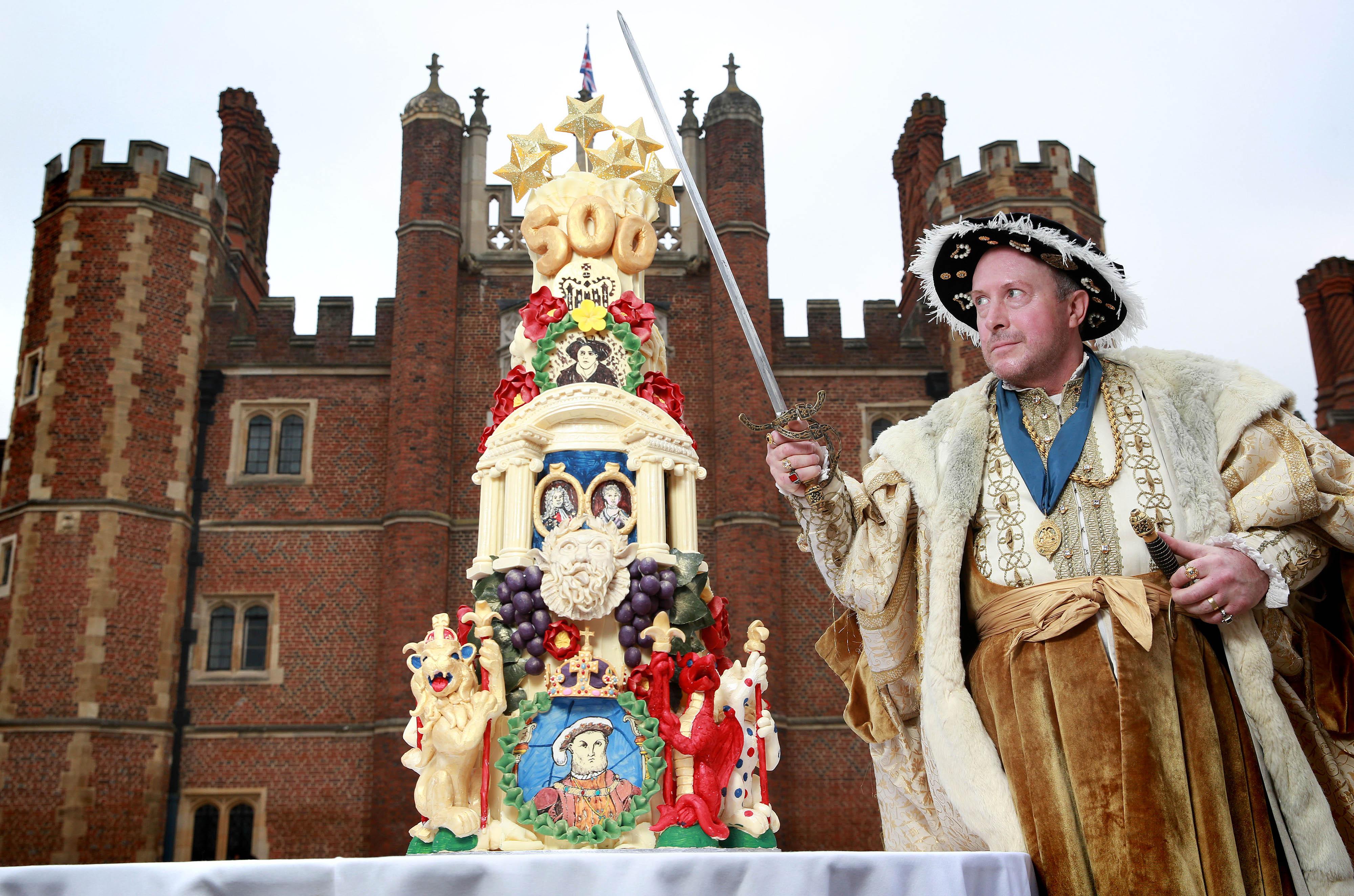 Edible Archaeology: Hampton Court Palace