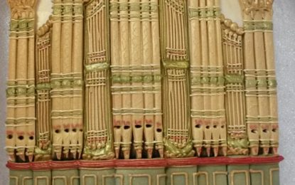 Edible Archaeology: William Hill Pipe Organ