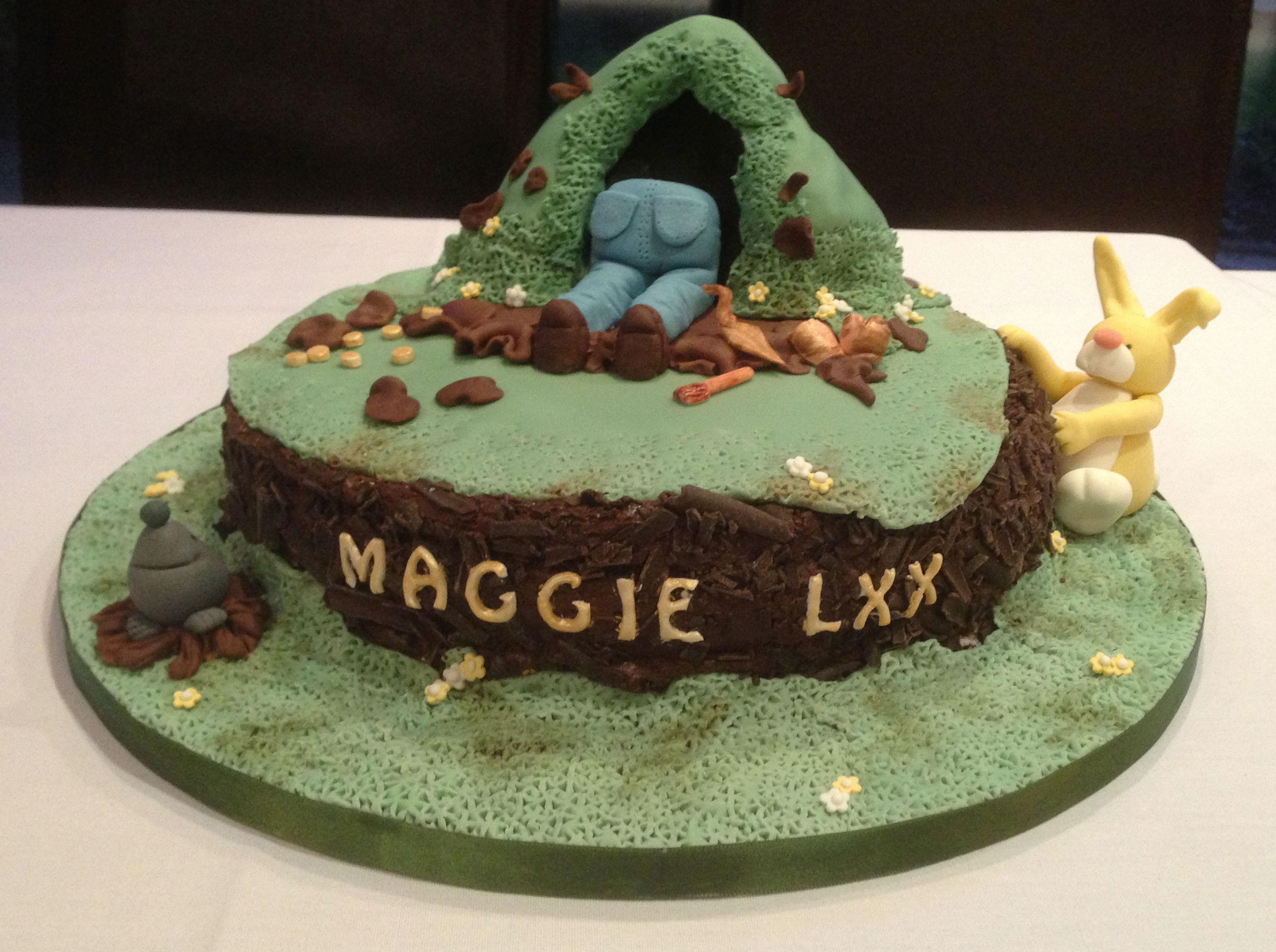 Edible Cake Images Bundaberg : Edible Archaeology: birthday burrowing - Current Archaeology