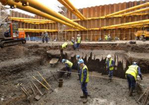 Excavating Temple Mills (c) PCA