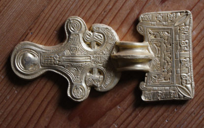 Edible Archaeology: Butler's Field brooch