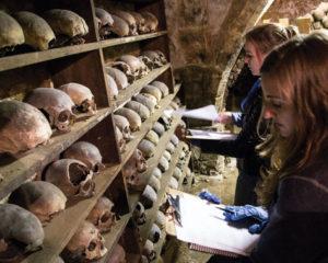 Rothwell charnel chapel: the nameless dead
