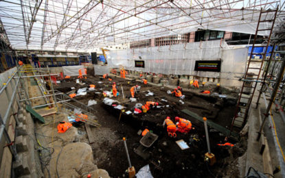 Fast track to the past: Celebrating Crossrail's archaeology