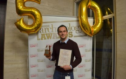 PRESS RELEASE: LiDAR (New Forest National Park) wins Archaeological Innovation of the Last 50 Years award