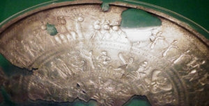 Phoenican art: silver bowl from Amathus