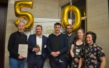PRESS RELEASE: Cambridge Archaeological Unit, University of Cambridge win Current Archaeology's Rescue Project of the Year award for 2017 for Must Farm