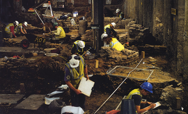 Excavating the CA archive: Roman archaeology