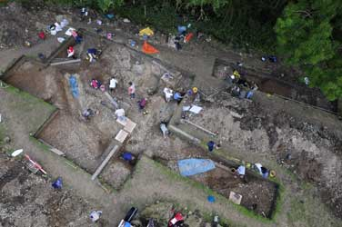 Excavation in progres/Aerial-Cam